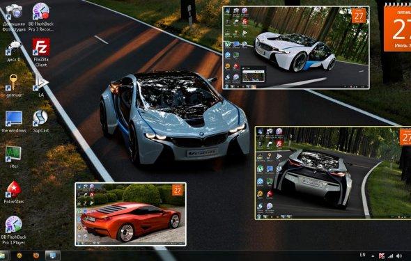 Тема BMW